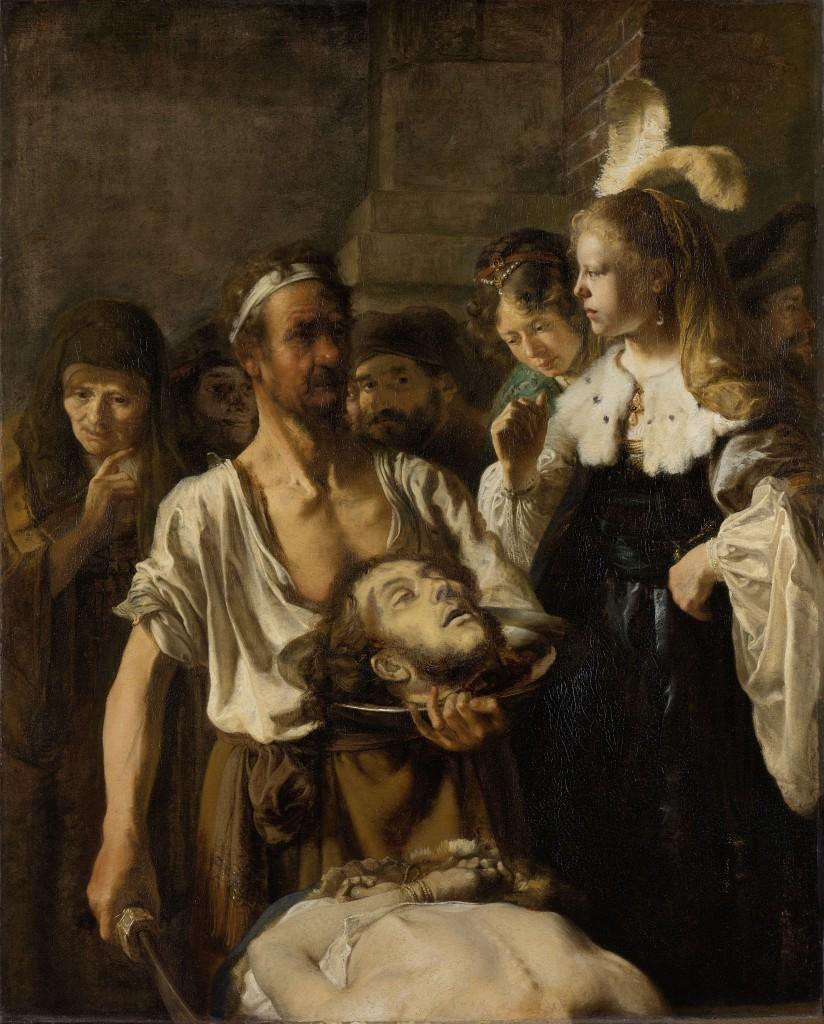 Beheading of John the Baptist, Fabritius, Rijksmuseum, Public Domain