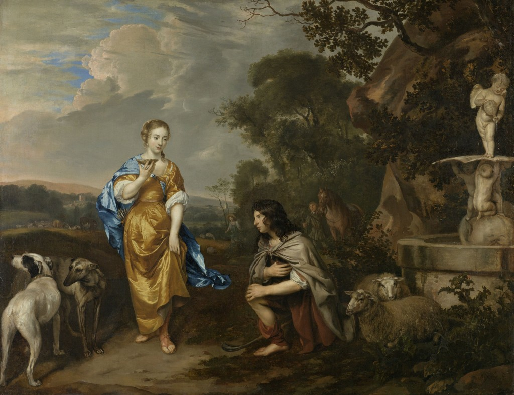Double portrait of a young couple as Granida and Daifilo, Mytens, Rijksmuseum, Public DomainDouble portrait of a young couple as Granida and Daifilo, Mytens, Rijksmuseum, Public Domain