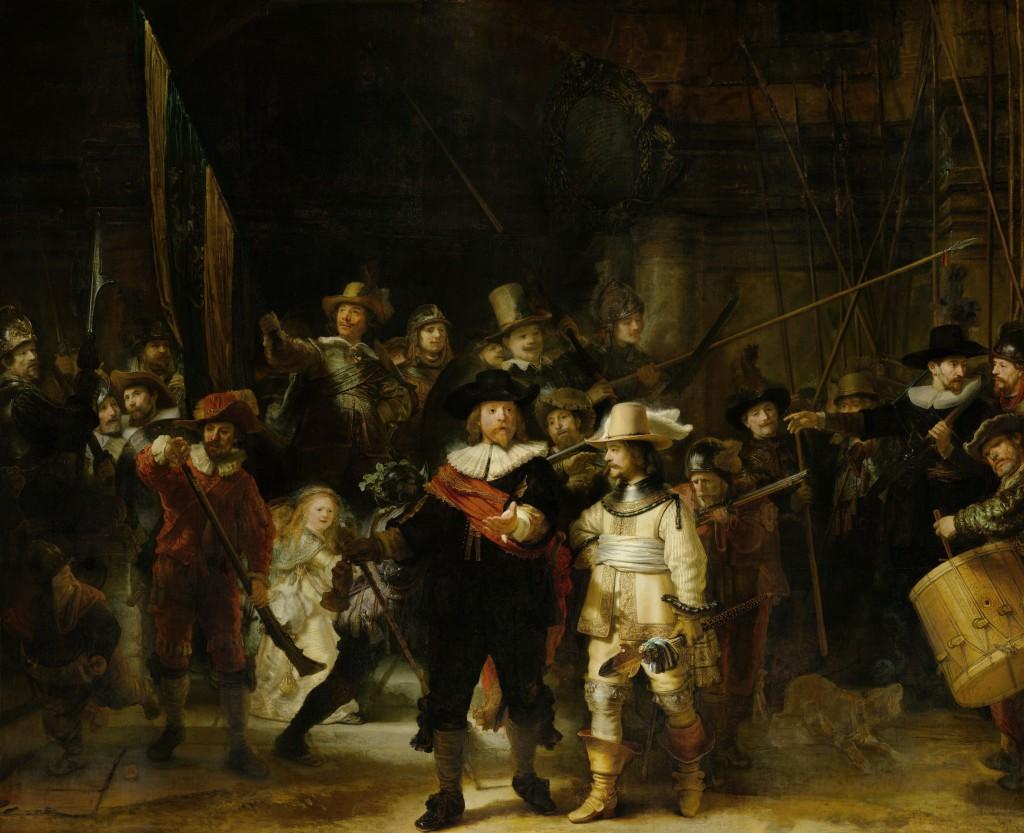 Nightwatch Rijksmuseum Rembrandt Public Domain