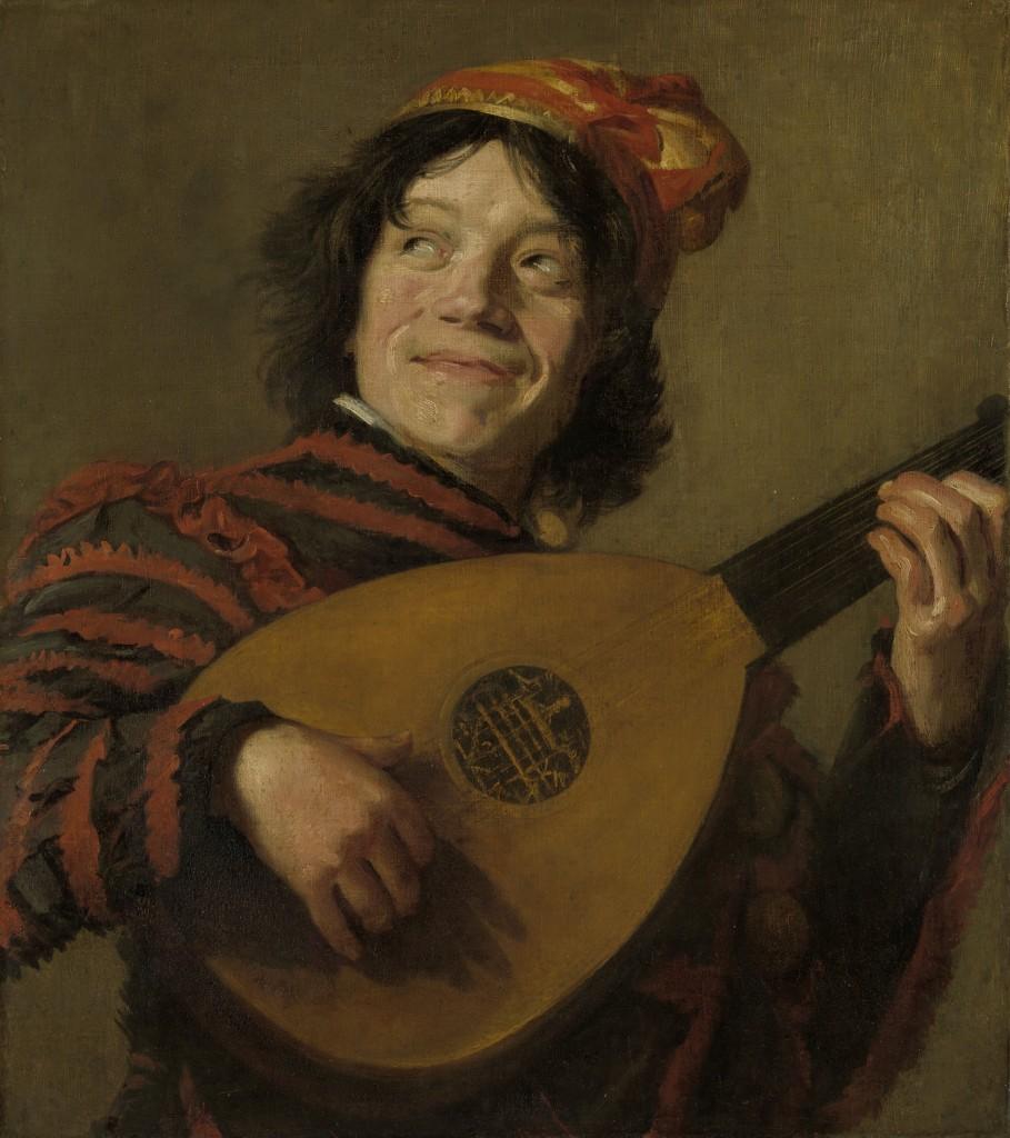 The Luteplayer, Frans Hals, Rijksmuseum, Public Domain