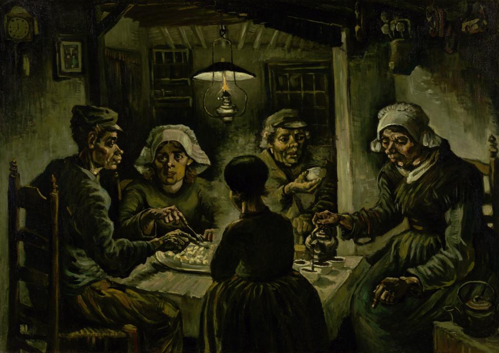 The Potato Eaters, Van Gogh, Van Gogh Museum, Public Domain
