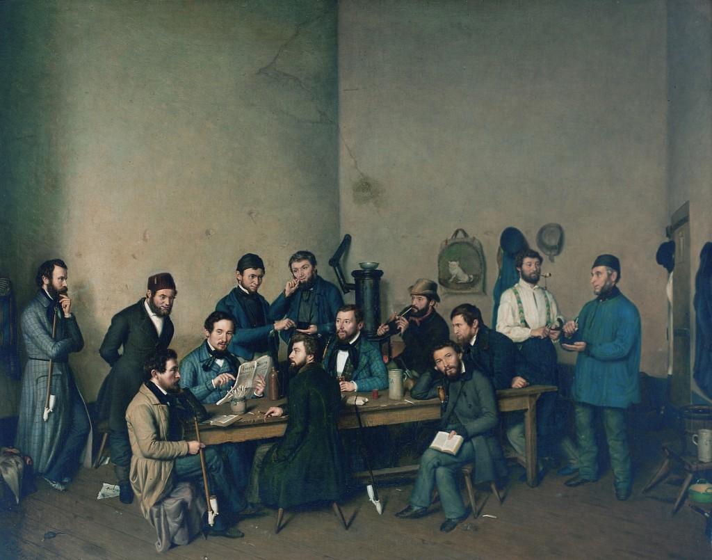 Velten, Prison Scene, Simeonstift Trier, CC-BY