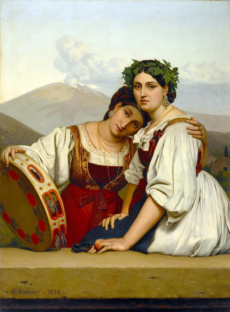 Women from Naples, Guillaume Bodinier, Villa Vauban, CC-BY-SA
