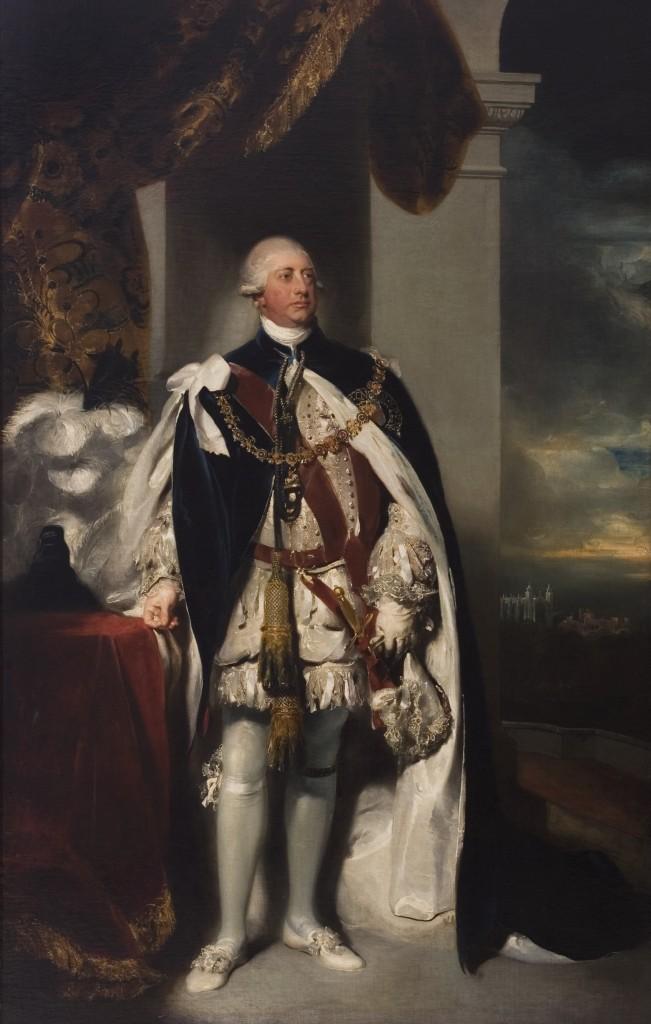 King George the third, Herbert Gallery, Public Domain