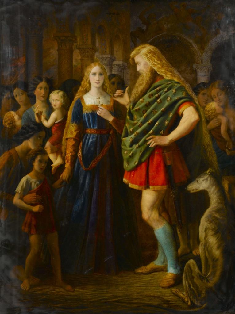 Lady Godiva and Earl Leofric