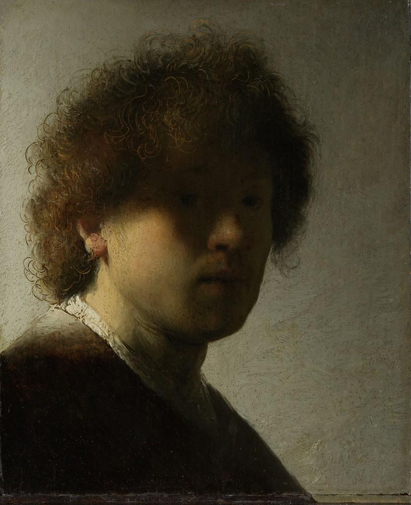 Rembrandt Selfportait, Rijksmuseum, Public Domain
