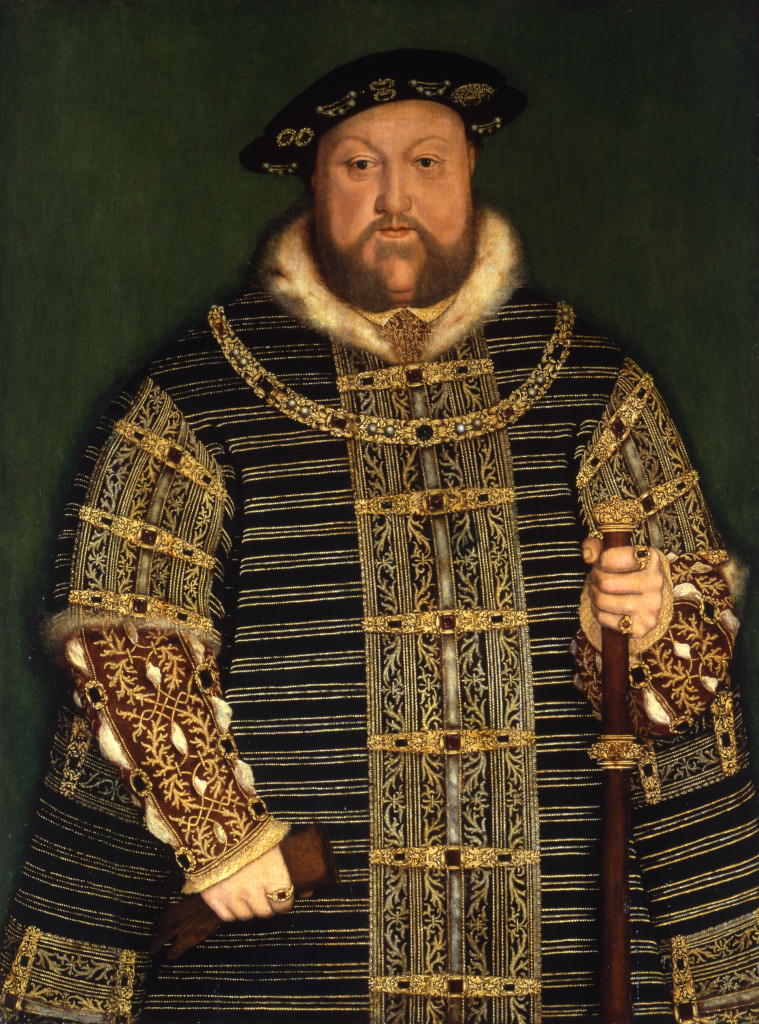 After Holbein, King Henry VIII Compton Verney, photo by Prudence Cuming Associates Ltd CC-BY-SA