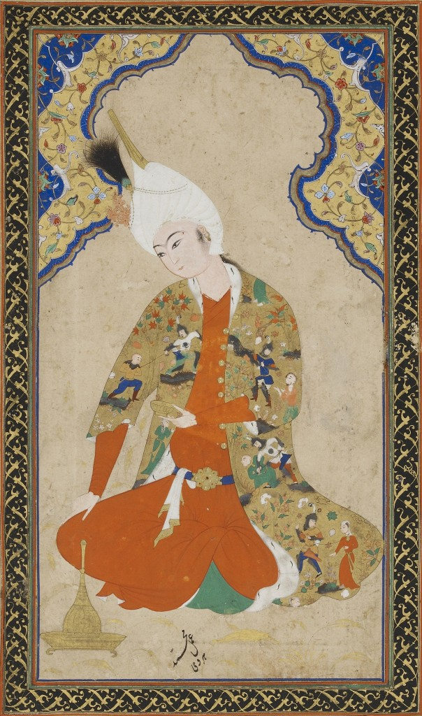 Young Prince signed by Muhammad Haravi, Smithsonian Institution, CC-BY