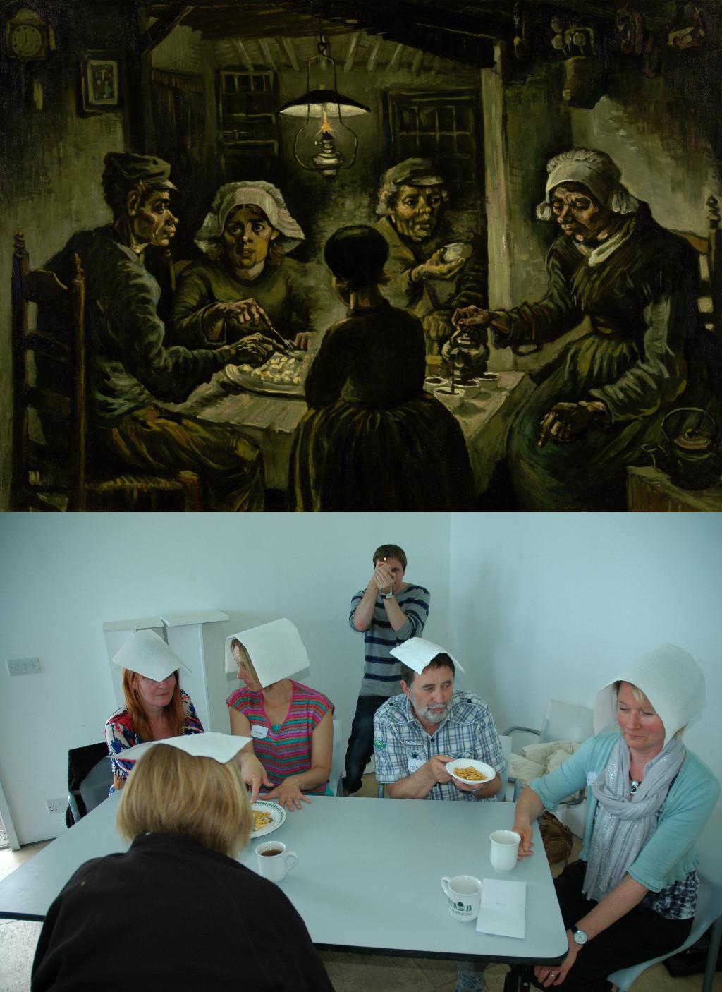 The Potato Eaters, Vincent van Gogh (1853-1890) vanGo'd by AfC