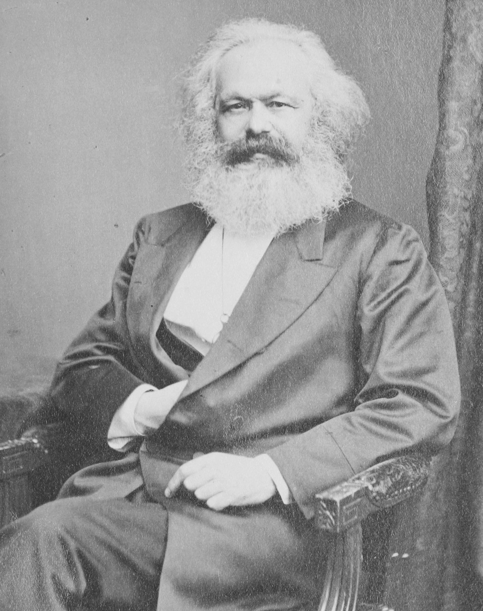 Photograph by English photographer, John Jabez Edwin Mayall (1813-1901). Digital copy from the VanGoYourself.com Web site.