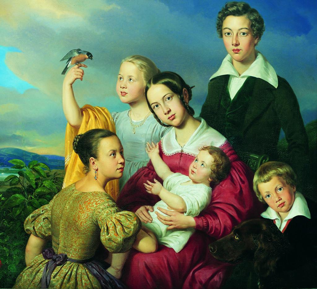 Six Children, Louis Krevel, Stadtmuseum Trier, CC-BY-SA