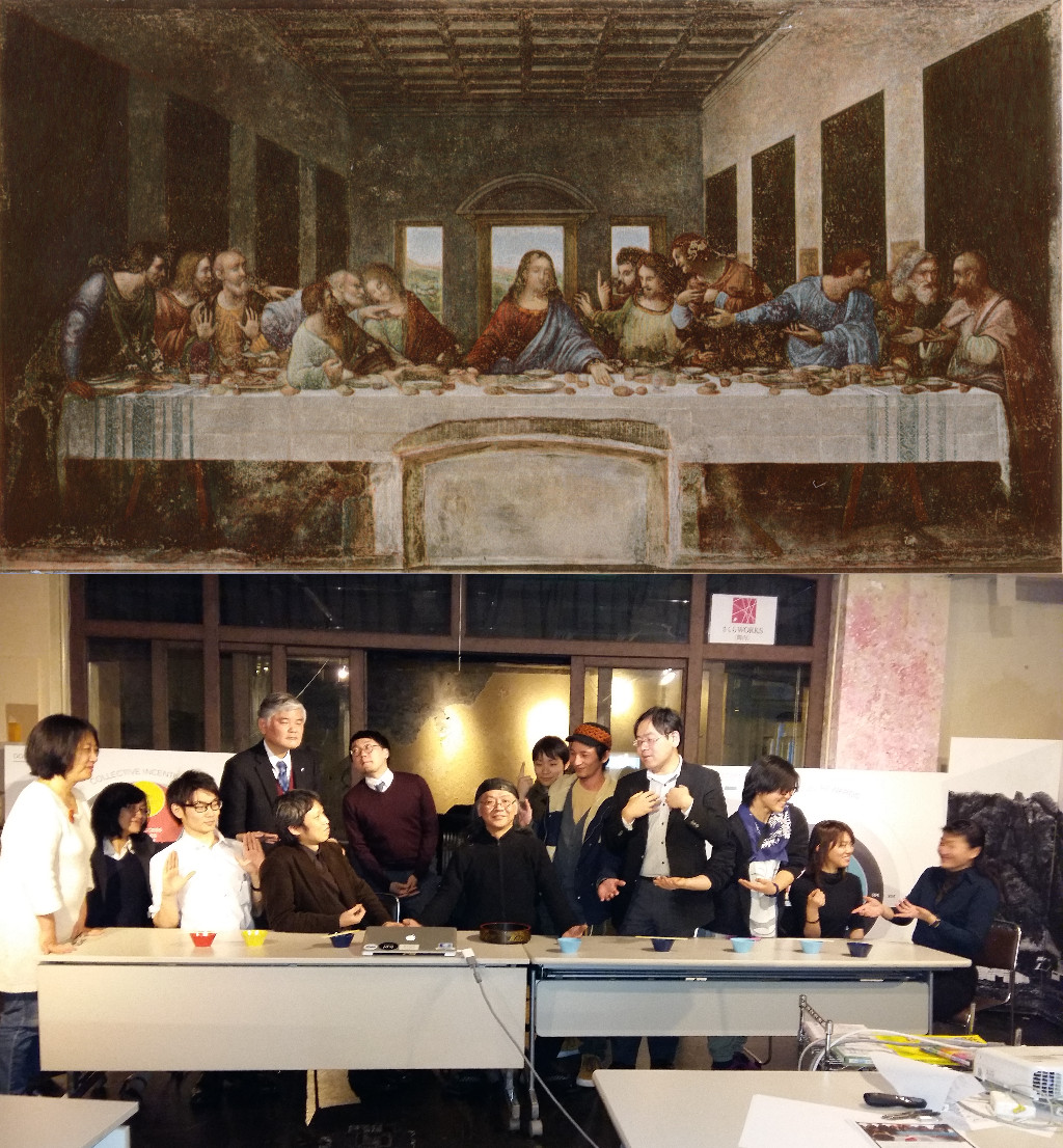 The Last Supper, Leonardo da Vinci (1452-1519) vanGo'd by Enric Da Vinci Paintings Hidden Messages