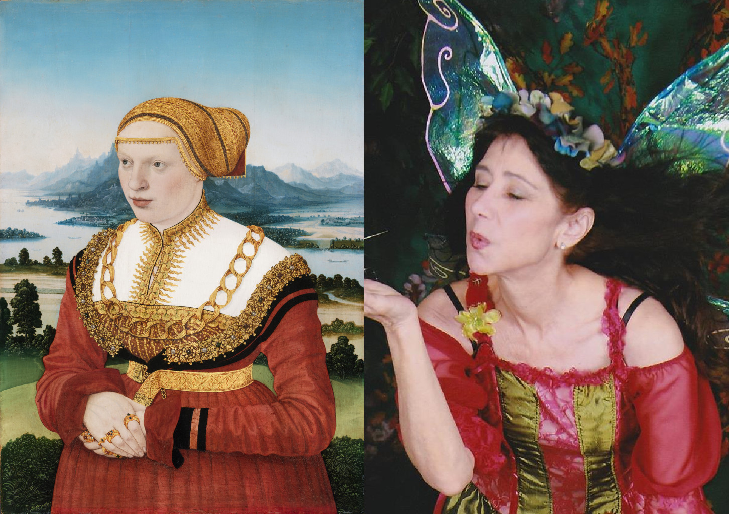 Portrait of Katherina Knoblauch, Conrad Faber von Creuznach (active c. 1500 – 1652/53) vanGo'd by barbara