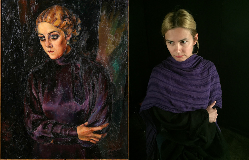 Portrait Of A Woman With Smokey Eyes Harry Rabinger 1895 1966 VanGod By Lets Go Digital 1 Person20th CenturyEasy To Recreate