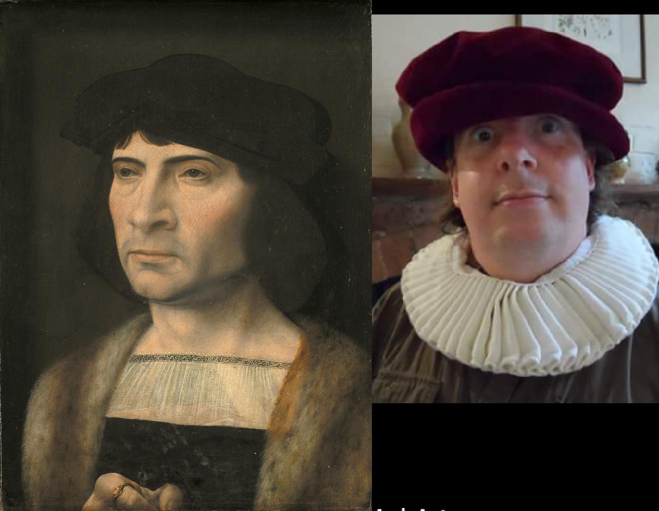 Portrait of a Man, Jan Gossaert (1453-1532) vanGo'd by Stephanie Acton