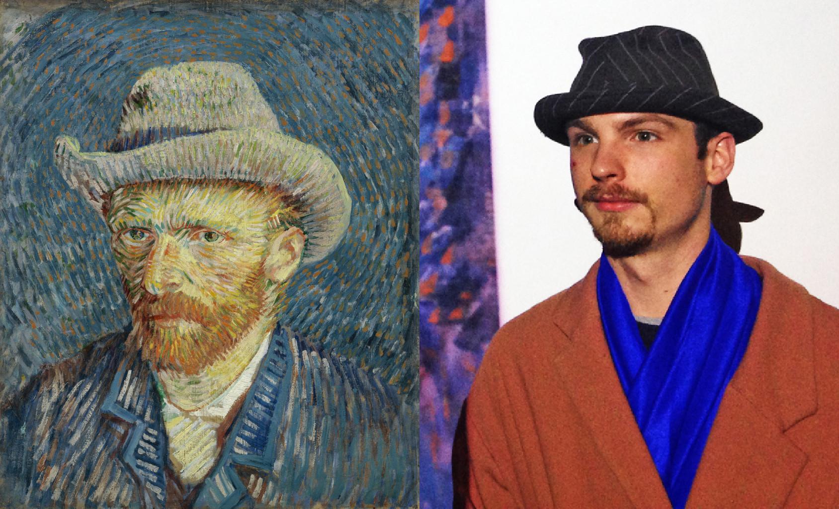 Self-Portrait with Grey Felt Hat, Vincent van Gogh (1853-1890) vanGo'd by Claire