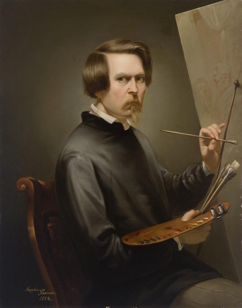 Napoleon_Illakowicz_Self-portrait_1852_LAM