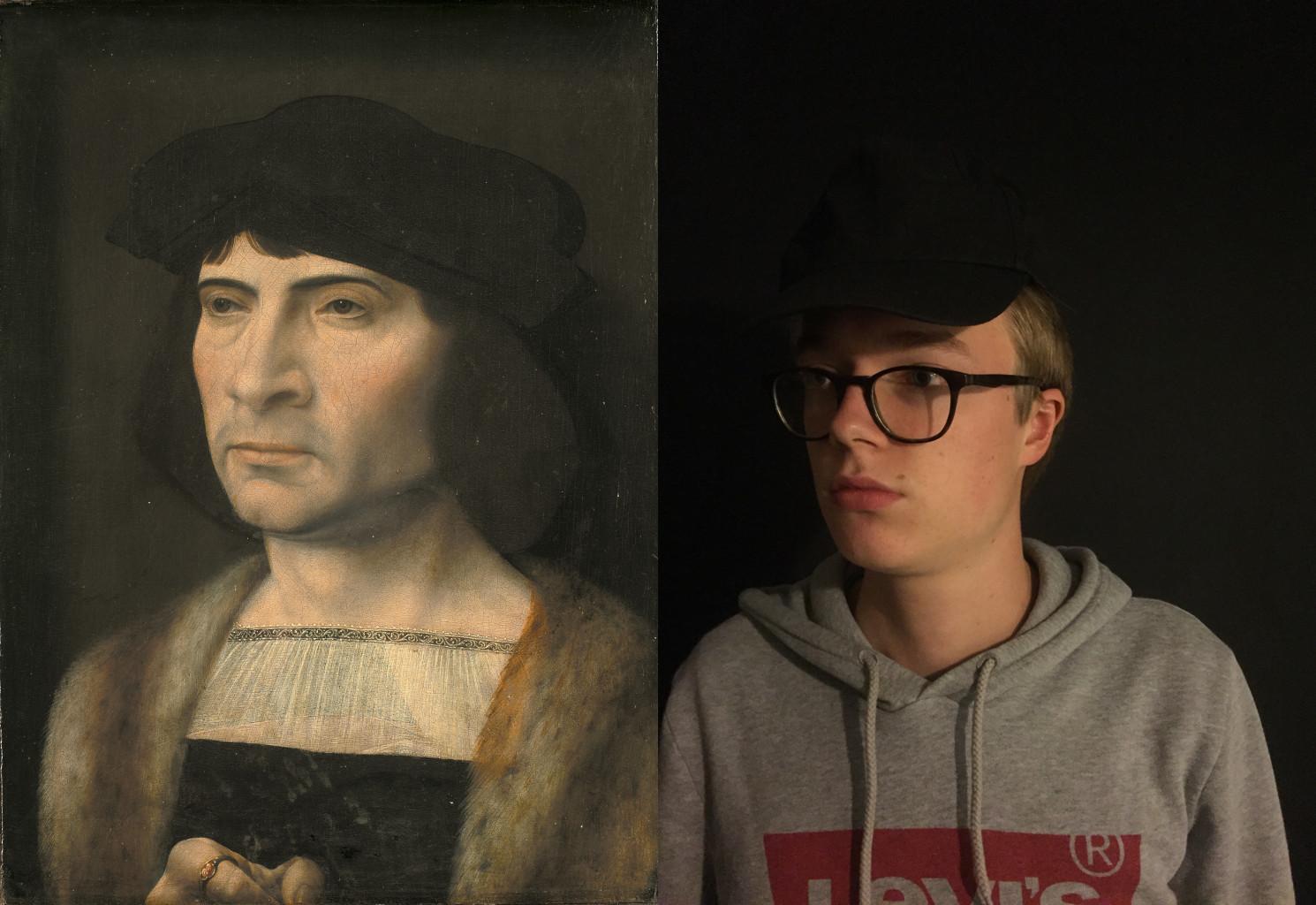 Portrait of a Man, Jan Gossaert (1453-1532) vanGo'd by Tanguy
