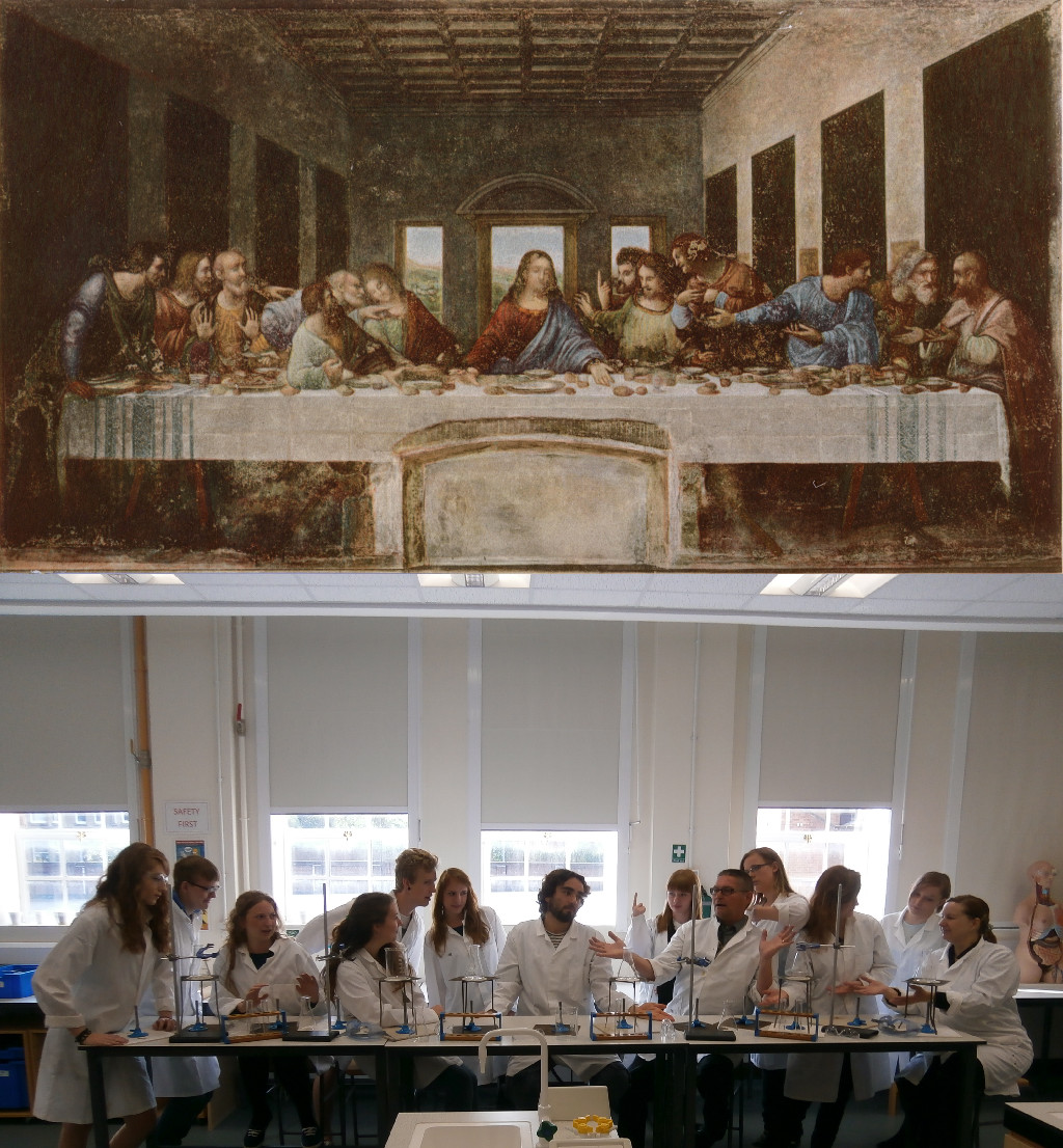 Leonardo da Vinci's Last Supper